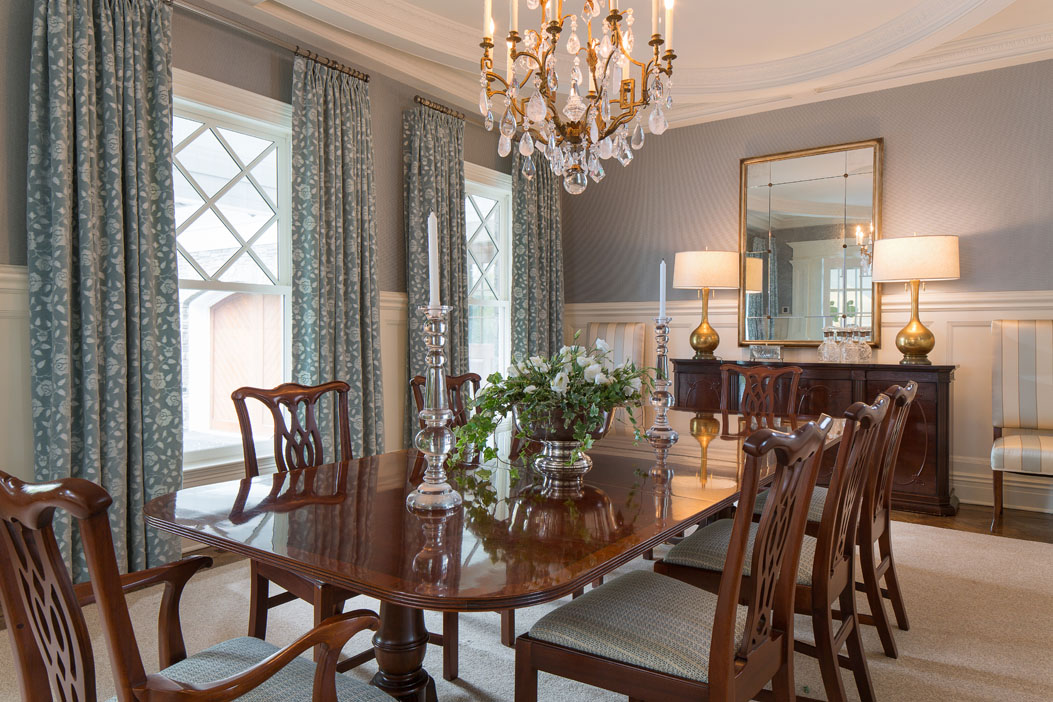 Greenwich Back Country - interior design project of Susan Carlson Interiors