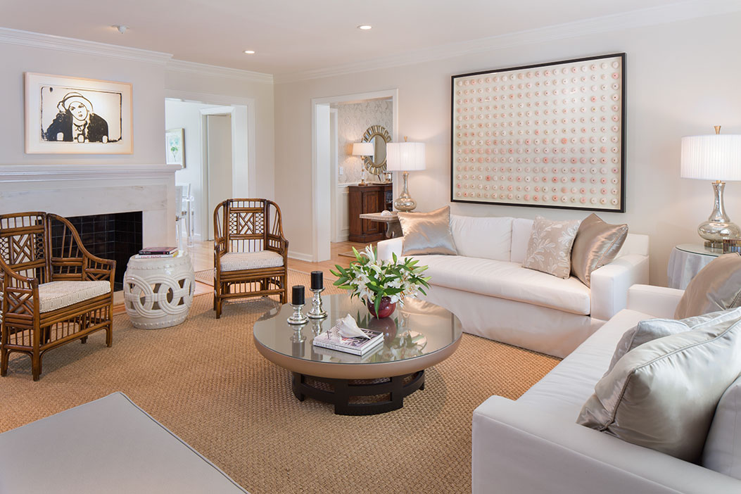 Palm Beach Bungalow - interior design project of Susan Carlson Interiors