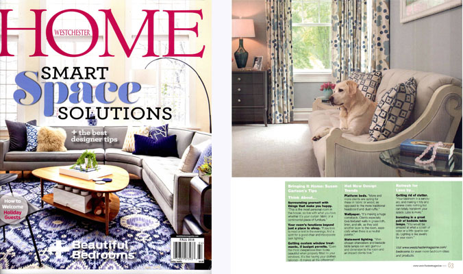 Westchester Home Magazine Fall 2016 - Best of Home Design - Bedrooms